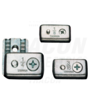 Clema de strangere cablu, acelmax, otel AMAX5 d=5mm (3/16coll), M5