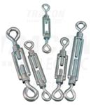 Intinzator cablu (ochi-ochi), otel+corp turnat FSS6100 6×100mm, 1800N