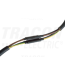 Manson pt.cabluri ecranate cu lita, 4 conductoare, cu adeziv ZSRSET-1DA 4×6mm2-4×25mm2, (4×19/6mm, l=150mm)+(1×51/16mm, L=500mm)