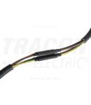 Manson pt.cabluri ecranate cu lita, 4 conductoare, cu adeziv ZSRSET-2DA 4×35mm2-4×120mm2, (4×30/8mm, l=200mm)+(1×85/25mm, L=1000mm)