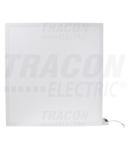 Panou LED, cu iluminare din spate, adanc LPB606040NW 230VAC, 50Hz, 40W, 3600lm, 4000K, IP40, 595×595mm, EEI=A
