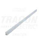 Corp de iluminat LED T5 asociabil, pentru mobila LBV5WW 230 V, 50 Hz, 5 W, 400 lm, 3000 K, 30 cm, EEI=A