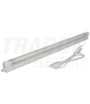 Corp de ilum. cu tub fluorescent T5,asociabil,pentru mobila FLT528W 230 V, 50 Hz, T5, G5, 28 W, EEI=A