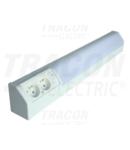 Lampa cu tub fluorescent si cu doua prize cu CP tip pin TLFL-10F 230V, 50Hz, T8, G13, 10W, 10A, EEI=A