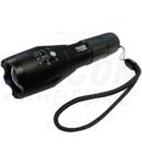 Lanterna LED cu acumulator ,focalizare reglabila KL600B 4,5 W, 500 lm, 3 h, 3,7 V, 1500 mAh 18650 Li-Ion