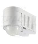 Detector de misc.infrarosu, montare colt/perete, plat, alb TMB-118 230V, 360°, 1-12 m, 10 s-15 min, 3-2000lux, IP44