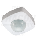 Senzor de prezenta, alb PRS46B 230V, 360°, 1-20 m, 10 s-30 min, 3-2000lux, IP20