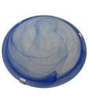Aplica tavan din sticla, albastra, UFO-2-K 230V, 50Hz, E27, max.2×60W, D=300 mm, EEI=A++,A+,A,B,C,D,E