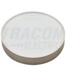 CIL LED, aparent,dispersor din mat. plastic si rama argintie MFDS8W 230 V, 50 Hz, 8 W, 600 lm, 3000 K, EEI=A