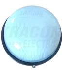 Corp de iluminat metalic protejat,rotund, negru, fara grilaj TLH-15RN 230V, 50Hz, E27, max.100W, IP44, EEI=A++,A+,A,B,C,D,E
