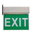 CIL de sig-evacuare cu LED, cu pictograme autoadezive EXIT-02-J 230V, 50Hz, 8×LED, 3h, 2,4V / 900mAh, Ni-Cd