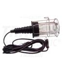 Lampa instalator cu grilaj metalic, dispersor de sticla, II STL-03 230V,50Hz,max.60W,5m, 2×0,75mm2, H05RN,EEI=A++,A+,A,B,C,D,E