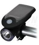 Lanterna LED pentru bicicleta cu panou fotovoltaic BLCS3W 3W, 6000K, 1200mAh Li-Ion, 200lm, IP64, 6h