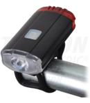 Lanterna LED pentru bicicleta,iluminare fata-spate BLCR2W 2W; 5000K; 3,7 V / 800 mAh, 150lm, IP54, 2/5h