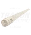 Tub luminos LED, din sticla,dispersor opal LT8G12018WW 230 V, 50 Hz, G13, 18 W, 1600 lm, 2700 K, 200°, EEI=A+