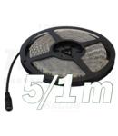 Banda cu LED-uri, de exterior LED-SZK-72-CW SMD5050; 30 LED/m; 7,2 W/m; 330 lm/m; W=10 mm; 6000 K; IP65