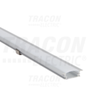 Profil din aluminiu pentrubenzi LED, plat, incastrabil LEDSZPR W=10mm