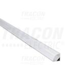 Profil din aluminiu pentrubenzi LED, de colt LEDSZPC W=10mm