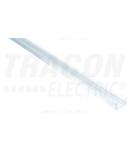 Profil din aluminiu pentru benzi LED, plat LEDSZSLIM W=8 mm
