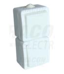 Intrerupator 1P si priza PT TR-PH03 16A/250VAC, IP54 (101)