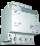 Contactor modular 40A pentru iluminat 4NO