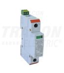 Descarcator de supratensiuni,AC,cl.2,elem.modular inlocuibil TTV2-20-4P 230/400 V, 50 Hz, 10/20 kA (8/20 us), 3P+N/PE