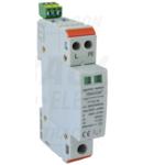 Descarcator de suprat.,AC,cl.2,1mod.,elem.modular inlocuibil TTV2-30-1P+N/PE 230 V, 50 Hz, 15/30 kA (8/20 us), 1P+N/PE