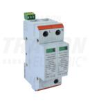 Descarcator de supratensiuni,AC,cl.2,elem.modular inlocuibil TTV2-60-2P 230/400 V, 50 Hz, 30/60 kA (8/20 us), 2P