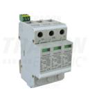 Descarcator de suprat.,DC,pentru sisteme PV,clasa 2, 3 mod TTV2-40-DC-600 600 VDC, 20/40 kA (8/20 us), 2P