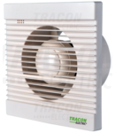 Ventilator de baie, rulment cu bile ,temporizator VF100-BT 230 VAC, 15W, 80 m3/h, 33 dB,100 mm
