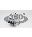 Siguranta automata, 3 poli, curba caracteristica B TDZ-3B-50 50A, 6kA
