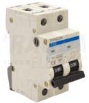 Siguranta automata, 2 poli, curba caracteristica C TDZ-2C-40 40A, 6kA