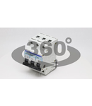 Siguranta automata, 3 poli, curba caracteristica D TDZ-3D-6 6A, 6kA