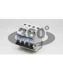 Siguranta automata, 4 poli, curba caracteristica D TDZ-4D-63 63A, 6kA