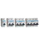 Siguranta automata pentru curenti mari, 4 poli, curba C KMH-4100 100A, 6kA