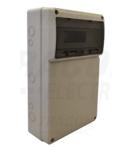 Cutie industriala de distributie,neech,cu sina de montaj,ABS TDB503315 16 mod, HxWxD=506x330x150, IP65