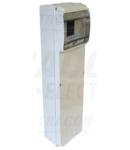 Cutie de distributie industriala goala cu sina de montaj,ABS TDB461377 6 mod, H×W×D=460×130×105mm, IP55