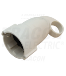 Priza cu contact de protectie lateral, care poate fi trasa l TCSAH 1×SHUKO, 250VAC, max.16A