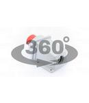 Fisa industriala aparenta TICS-545 125A, 400V, 3P+N+E, 6h, IP67