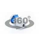 Priza industriala aparenta TICS-1232 32A, 250V, 2P+E, 6h, IP67