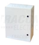 Cutie de distributie din material plastic TME504018 H×W×D=500×400×175mm, IP65, IK10, 1000V AC/DC, RAL7035