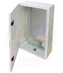 Cutie de distributie din material plastic TME604020 H×W×D=600×400×200mm, IP65, IK10, 1000V AC/DC, RAL7035