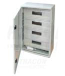 Cutie modulara de distributie din material plastic TME282113M 1×8mod, H×W×D=280×210×130mm, IP65, IK10, 1000V AC/DC