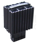 Unitate incalzire pentru dulap de distributie,montaj pe sina FE30 30W, 120-250V AC/DC, max.3A