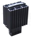 Unitate incalzire pentru dulap de distributie,montaj pe sina FE45 45W, 120-250V AC/DC, max.3,5A