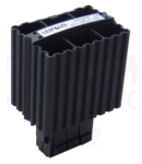 Unitate incalzire pentru dulap de distributie,montaj pe sina FE75 75W, 120-250V AC/DC, max.4A