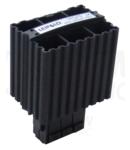 Unitate incalzire pentru dulap de distributie,montaj pe sina FE100 100W, 120-250V AC/DC, max.4,5A