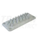 Trecere din cauciuc, 25 cabluri pt.dulap de distributie EKBV-04 222x92mm; IP55
