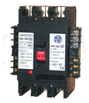 Intrerupator compact cu declansator 400 Vc.a. KM2-063/1B 3×230/400V, 50Hz, 63A, 50kA, 1×CO