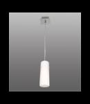 Lustra Lira 11 cu 1 bec- Brilux - Corpuri de iluminat crom satin / alb